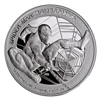 Cook Island - 5 CID Spider-Man Homecoming 2017 - 1 Oz Silber