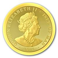 Isle of Man - Angel 2017 - Gold Proof