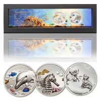 Palau - 20 USD Marine Life Protection 2-Coin-Set 2017 - 4 Oz Silber