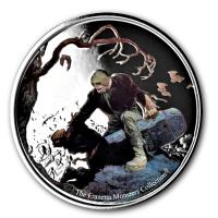 Ghana - 5 Cedis Frazetta Beyond the Grave 2017 - 1 Oz Silber