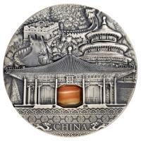 Niue - 2 NZD Imperial Art China - 2 Oz Silber Antik Finish