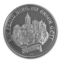 Medaille - Dr. Martin Luther - 15g Silber PP