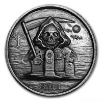 USA - The Grim Reaper 2017 - 1 Oz Silber HighRelief