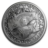USA - Destiny Knight The Shield - 2 Oz Silber
