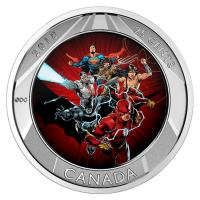 Kanada - 0,25 CAD Justice League - 3D Coin 2 Trading Cards