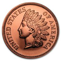 USA - Indian Head Cent - 1 Oz Kupfer