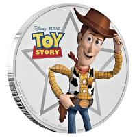 Niue - 2 NZD Disney Toy Story Woody 2018 - 1 Oz Silber