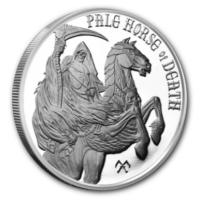USA - Apocalypse Pale Horse of Death - 1 Oz Silber