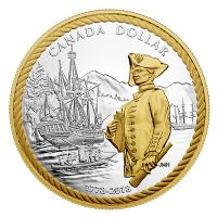 Kanada - 4,90 CAD Captain Cook am Nootka Sound 2018 - Silber Proof Set