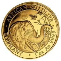 Somalia - 1000 Shillings Elefant 2018 WMF Berlin - 1 Oz Gold