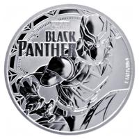 Tuvalu - 1 TVD Marvel Black Panther 2018 - 1 Oz Silber