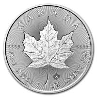 Kanada - 5 CAD Incuse Maple Leaf 2018 - 1 Oz Silber