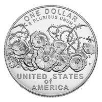 USA - 1 USD 100 Jahre Ende WW1 2018 - Silber Proof
