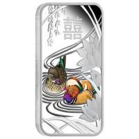 Tuvalu - 1 TVD Chinese Wedding 2018 - 1 Oz Silber Proof Color