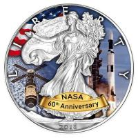 USA - 1 USD Silver Eagle Skylab 2018 - 1 Oz Silber Color
