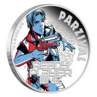 Australien - 1 AUD Ready Player One Parzival 2018 - 1 Oz Silber