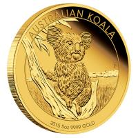 Australien - 500 AUD Koala 2015 - 5 Oz Gold Proof