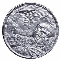 USA - Pirates Davy Jones Locker - 2 Oz Silber