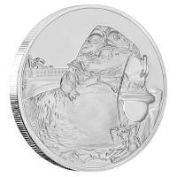 Niue - 2 NZD Star Wars Jabba the Hut 2018 - 1 Oz Silber PP