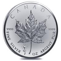 Kanada - 5 CAD Maple Leaf 2018 - 1 Oz Silber Privy Edison