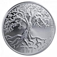 Niue - 2 NZD Tree of Life 2018 - 1 Oz Silber