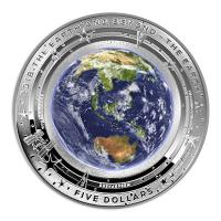 Australien - 5 AUD Earth and Beyond - 1 Oz Silber