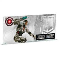 Niue - 1 NZD Justice League Cyborg - Silber Banknote