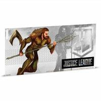 Niue - 1 NZD Justice League Aquaman - Silber Banknote