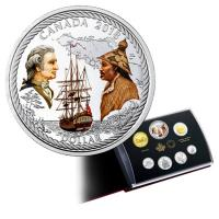 Kanada - 4,90 CAD Captain Cook am Nootka Sound 2018 - Proof Set