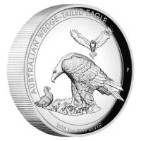 Australien - 1 AUD Wedge Tailed Eagle 2018 - 1 Oz Silber Proof HR