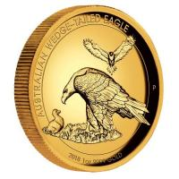 Australien - 100 AUD Wedge Tailed Eagle 2018 - 1 Oz Gold HR