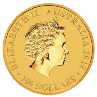 Australien - 100 AUD Bird of Paradise 2018 - 1 Oz Gold