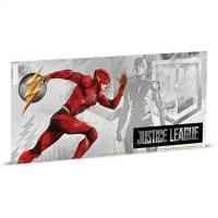 Niue - 1 NZD Justice League The Flash - Silber Banknote