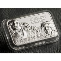 Cook Island - 10 CID Mount Rushmore 2018 - 2 Oz Silber