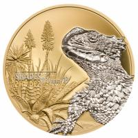 Cook Island - 5 CID Girdled Lizard - 25g Silber Proof