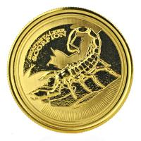 Tschad - 3000 Francs Deathstalker Skorpion 2017 - 1 Oz Gold
