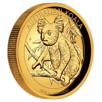Australien - 100 AUD Koala 2018 - 1 Oz Gold HighRelief