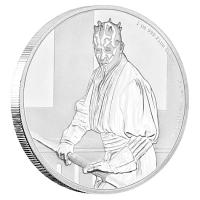 Niue - 2 NZD Star Wars Darth Maul 2018 - 1 Oz Silber PP