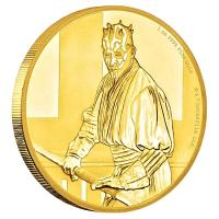 Niue - 250 NZD Star Wars Darth Maul 2018 - 1 Oz Gold