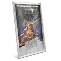 Niue - 2 NZD Star Wars The Empire strikes back - 35g Silber Poster