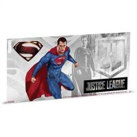 Niue - 1 NZD Justice League Superman - Silber Banknote
