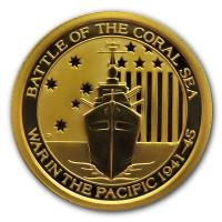 Australien - 15 AUD War in the Pacific 2015 - 1/10 Oz Gold