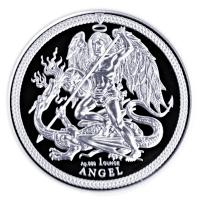 Isle of Man - 1 Angel 2018 - 1 Oz Silber
