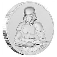 Niue - 5 NZD Star Wars Stormtrooper 2018 - 2 Oz Silber HighRelief