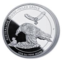 Australien - 2 AUD Wedge Tailed Eagle 2018 - 2 Oz Silber Piedfort