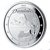 Dominica - 2 Dollar EC8 The Nature Island - 1 Oz Silber