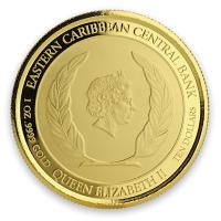 Dominica - 10 Dollar EC8 The Nature Island - 1 Oz Gold