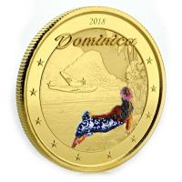 Dominica - 10 Dollar EC8 The Nature Island PP - 1 Oz Gold Color