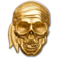 Palau - 200 USD Piraten Totenkopf 2018 - 1 Oz Gold