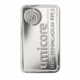 Palladium Barren - 1 Oz Palladium